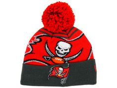 Tampa Bay Buccaneers New Era NFL Logo Whiz Knit