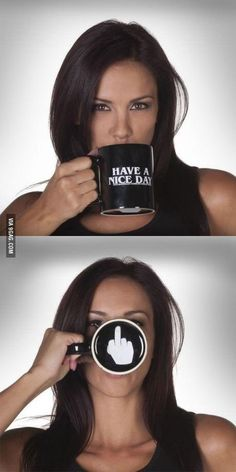 I want this mug soooo bad - but I don't think work would let me use it (at the front desk, at least).
