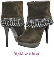 Italina Kelly Brown Women Ankle Boots  www.shoeocean.com