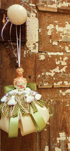 Decorative Tassel  Shabby Chic Decor  Cottage Chic by atopdrawer, $45.00