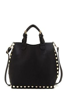 Octagonal Studded Tote by Nila Anthony on @HauteLook