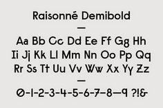 Raisonne Demibold
