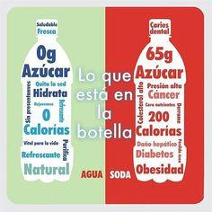 @Regrann from @fuxionsaludmcbo -  El estar bien hidratado ayuda a mantener el #metabolismo funcionando eficientemente.  Diversos estudios han revelado que tomarse de uno a dos vasos de agua antes de cada comida le puede ayudar a consumir menos calorías. Muchas veces confundimos hambre con sed  lo que puede hacer que consumamos más calorías de las recomendadas.  La desventaja de consumir gaseosas está en la cantidad de azúcar y cafeína que contienen. Varios estudios han demostrado que las…