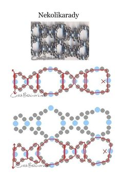 FREE:  EASY Nekolikarady Seed bead pattern - USES SEEDS ONLY BUT CAN ADD CRYSTALS/GEMS  EMBELLISH