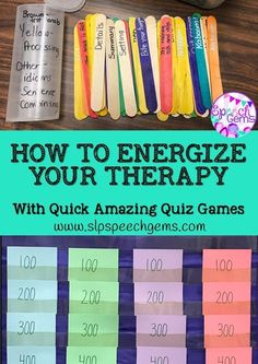 How to ENERGIZE Your Therapy with QUICK AMAZING QUIZ GAMES