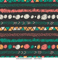Vector Colorful Set Of Ethnic Decorative Feathers Hanging On Threads - 178297217 : Shutterstock