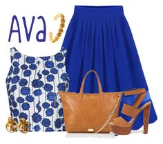 """""""Ava"""" by alyssa-eatinger ❤ liked on Polyvore featuring Topshop, Lipsy, Steve Madden, LeiVanKash and Chanel"""