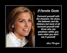 Girls Soccer Inspiration Poster, Coaching Wall Art, Daughter Motivation Wall Decor featuring Alex Morgan and a compelling message. It's an inspiring, lasting gift for any aspiring soccer player. It will certainly motivate and encourage. Soccer Player Quotes, Soccer Players, Lacrosse Quotes, Football Quotes, Soccer Motivation, Motivation Wall, Alex Morgan Quotes, Yoga Inspiration, Yoga Meditation