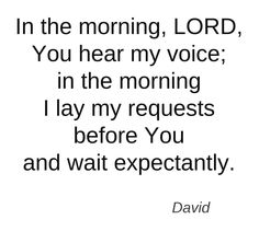 OH LORD, HELP ME TO REMEMBER TO WAIT ON YOU!