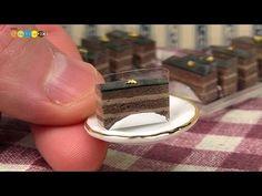 how to: miniature chocolate cake