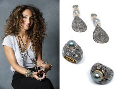 S13 Collection! Pearl Earrings, Drop Earrings, All That Glitters, Crochet Earrings, Sparkle, Brooch, Pearls, Jewelry, Collection