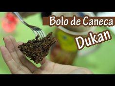 ▶ Bolo de Caneca Chocolate Dukan