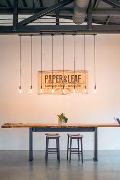 Paper & Leaf Office, Bainbridge Island, Washington State, USA