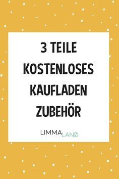 Kaufladen Zubehör selber basteln. Kaufladen DIY. Kaufladen IKEA Hack.  Kaufladen Zubehör für Kinder. 3 kostenlose Vorlagen zum Download.  Kassenschild, Warentrenner und Bonuskarten. Tolle Ergänzungen zum  Kaufladen spielen. www.limmaland.com #kaufladenzubehoer #kaufladendiy  #ikeahacks #limmaland #kinderzimmer #bastelnmitkindern Freebies, Ikea, Blog, Link, Movie Posters, Templates Free, Kid Birthdays, Playing Games, Kidsroom