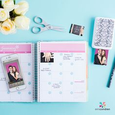 #PolaroidZip Printers & #Wedding Planners go together like something borrowed & something blue! #ECWeddingPlanner #ErinCondren