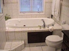 Whirlpool With Tile Tub Deck And Step Wb Doors Access
