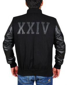 Michael B. Michael B Jordan, Black Bomber Jacket, Knitting Designs, Rib Knit, Jordans, Celebs, Sweatshirts, Sleeves, Celebrity