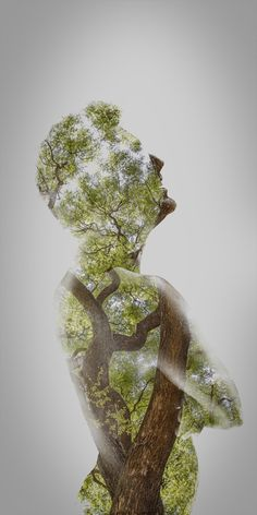 Double exposure photography by Francisco Provedo