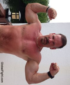 muscle stud flexing gallery