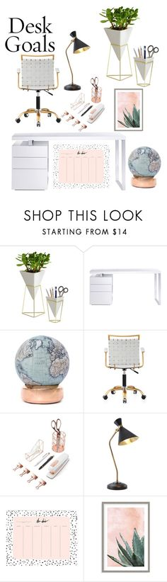"""""""Untitled #318"""" by nguyethally ❤ liked on Polyvore featuring interior, interiors, interior design, home, home decor, interior decorating, Umbra, Bellini, Bellerby & Co and U Brands"""