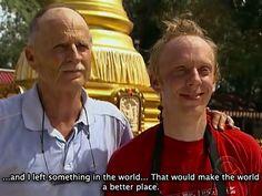 """PAROLE SANTE  Mel White e Mike White nell'episodio 14x07 (Gorilla? Gorilla?? Gorilla???) di """"The Amazing Race""""."""