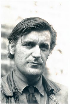 Ted Hughes , photograph taken by Fay Godwin 1970