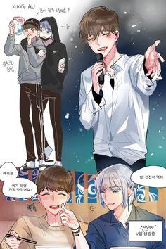 Tower of God - Arts - Khun x Cute Anime Boy, Anime Guys, Manhwa, Ship Art, Anime Ships, Anime Style, Funny Cute, Webtoon, Character Design