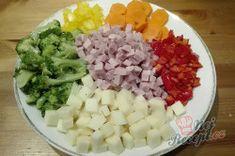 Lehký těstovinový salát s jogurtovým dresinkem   NejRecept.cz Tzatziki, 20 Min, Grains, Salads, Rice, Chocolate, Food, Essen, Chocolates
