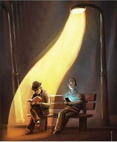 How true! How true! - Best Picture For Satire illustration For Your Taste You are looking for something, and it is going to tell you exactly what you are lo Meaningful Pictures, Satirical Illustrations, Wow Art, Love Book, Belle Photo, Book Lovers, Book Worms, Amazing Art, Awesome