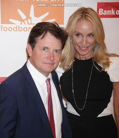 Famous couples now then on pinterest prove love for Michael j fox and tracy pollan love story