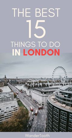 Things to Do in London. A London guide with some great tips and tricks from a local! | London Travel | What to do in London | London itinerary #London @LondonTravel - @WanderTooth