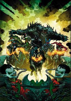 "Dark Nights: Metal | Grant Morrison vai co-escrever HQ especial com equipe liderada pelo ""Bat-Coringa"""