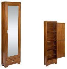 Resultado de imagen para zapateras de madera con espejo