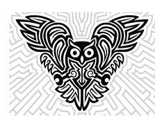Celtic Owl Tattoo Design