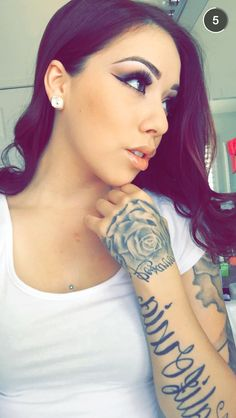 Pinterest the world s catalog of ideas for Salice rose tattoos