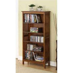 Mission Oak Display Shelf