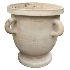 Antique French Terracotta Castelnaudary Urn Circa 1900