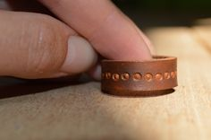 leather ring ~ livit vivid