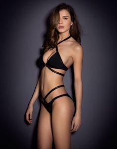 Give it to Agent Provocateur...to make the sexiest bikini on this planet. Wow! Bikinis by Agent Provocateur - Shelby Bikini
