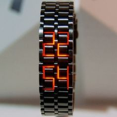 hiranao tsuboi of 100% at design tide ~ awesome LED watch!