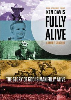 Ken Davis: Fully Alive - Christian Movie/Film on DVD. http://www.christianfilmdatabase.com/review/ken-davis-fully-alive/