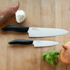 Lightweight  Sharp:  Kyocera Ceramic Chefs Knife. #vikingsun