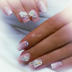 Another point of view. 3d Nail Art, 3d Nails, Bridal Nail Art, Cs, Photo And Video, Beauty, Videos, Photos, Instagram