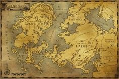 macaroni map fantasy - Google Search