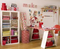 10 Makeover Ideas for Craft Rooms