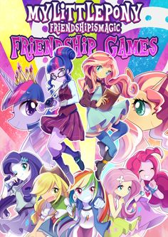 Friendship Games! by Akuama on DeviantArt