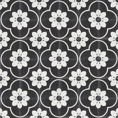 Moroccan & Encaustic Cement Tiles By Jatana Interiors Tile Layout, Floor Layout, Bathroom Floor Tiles, Tile Floor, Veneer Texture, Decorative Lines, Feature Tiles, Black Tiles, Tile Patterns
