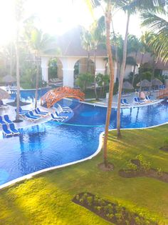 Majestic Colonial Pool and Spa in the early morning