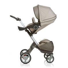 Kinderwagen: Kinderwagen: Stokke Xplory Stroller, Beige