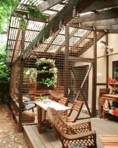 Outside Cat Enclosure, Diy Cat Enclosure, Catio Ideas For Cats, Cat Window, Cat Playground, Cat Room, Outdoor Cats, Space Cat, Outdoor Living